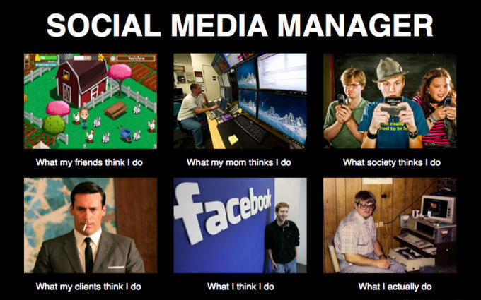 Meme sul Social Media Manager cosa pensano gli altri