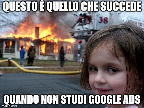 meme disaster girl su Google Ads