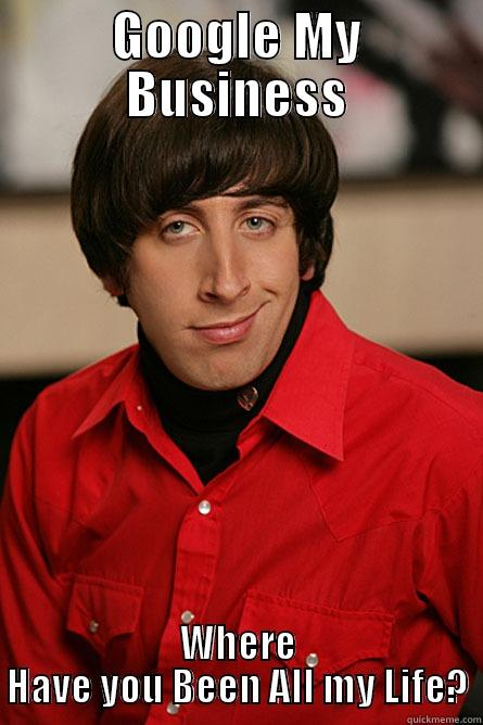 Meme The Big Bang Theory su Google My Business