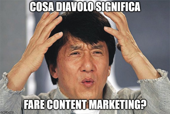 Jackie Chan: Cosa diavolo significa fare Content Marketing?