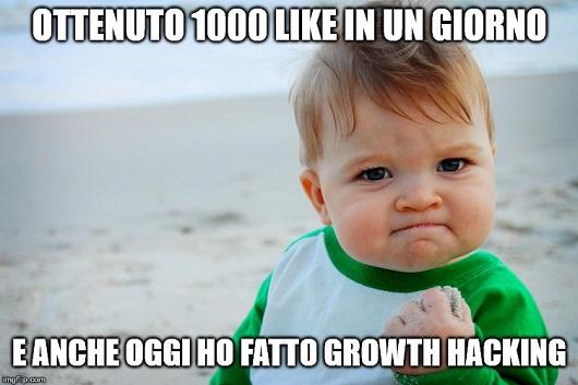 E anche oggi ho fatto Growth Hacking
