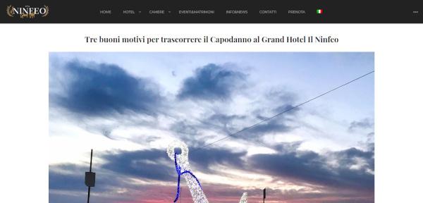 articolo grand hotel ninfeo