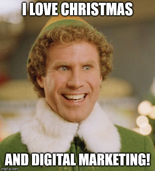 I love Christmas and Digital Marketing!